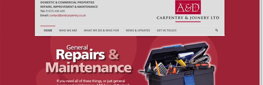 A&D Carpentry Web Home Page